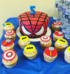 first birthday cake, birthday cake, kids cake, smash cake, superhero cake