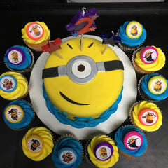 first birthday cake, birthday cake, kids cake, smash cake, superhero cake, baby shower cake, minion cake