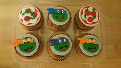 first birthday cake, birthday cake, ninja turtle, cupcakes, kids cake, smash cake, superhero cake, baby shower cake