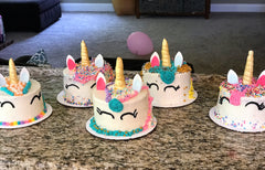 unicorn, birthday party, party, birthday, cakes, cake, decorating party, decorations, classes