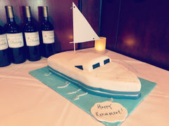 first birthday cake, birthday cake, kids cake, smash cake, superhero cake, baby shower cake, boat, retirement