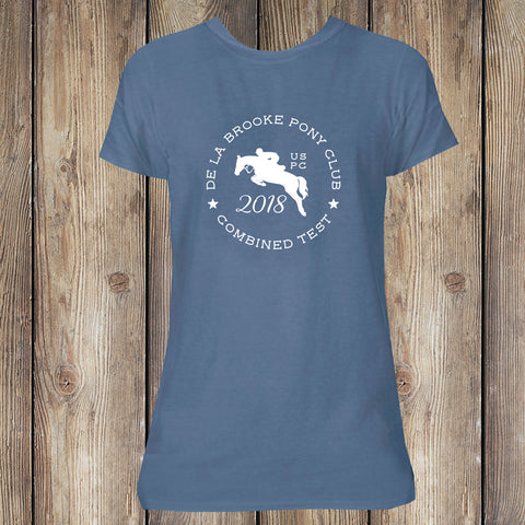 2018 De La Brooke Pony Club Combined Test Tee