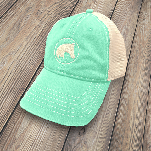 APO Trucker Cap, Sea Foam Green, HT-APO-SFG-101