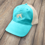 Unstructured Trucker Cap Lagoon Blue - HT-APO-LGBL-101
