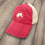 APO Trucker Cap, Red HT-APO-RED-100