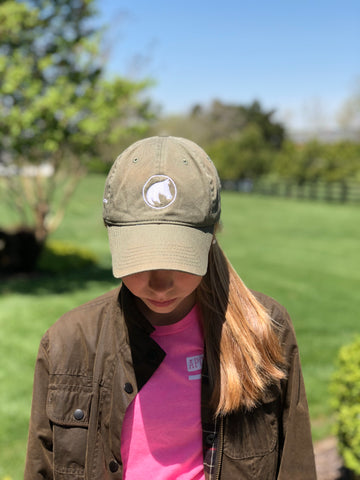 Barn Coat Green Logo hat