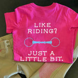 Like Riding? Just a Little Bit, Womens
