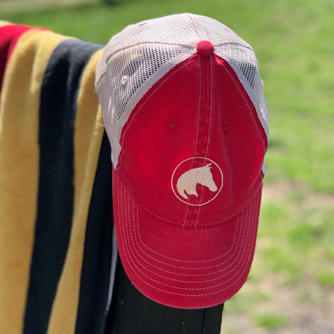 APO Trucker Cap, Red