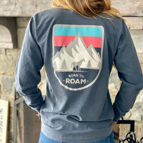 Born To Roam Long Sleeve
