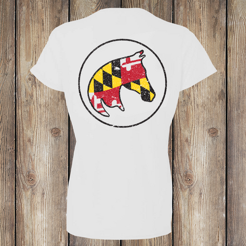 Maryland Pony Women's T-shirt American Pony Outfitters