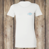Bridle Party Front - White, Women's T-Shirt WM-APO-1100