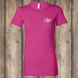Like Riding? Front - Berry, Women's T-Shirt WM-APO-600