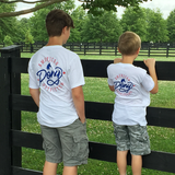 American Pony Outfitters Youth Logo Tee, YT-APO-100
