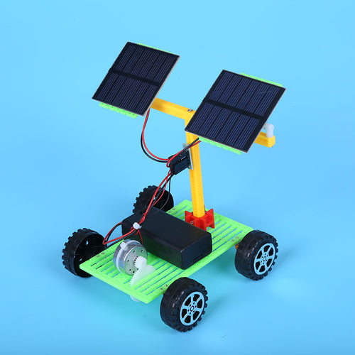 childrens diy solar powered car toy