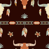 *Boho, Bulls, Feathers Patterns