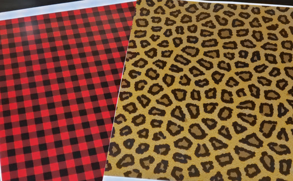 *Red Buffalo Plaid & Leopard Bundle