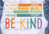 *Be Kind Transfer