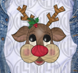 *Cute Reindeer - Transfer