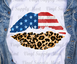 *Flag - Leopard Lips Transfer