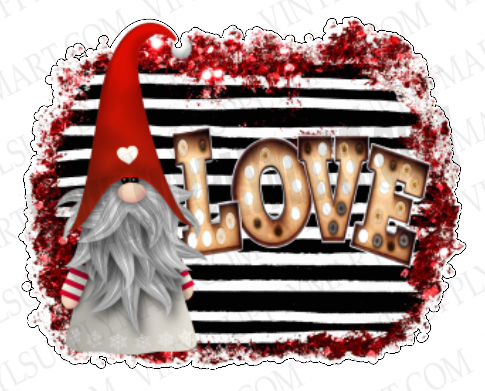 *Gnome Love - SUBLIMATION TRANSFER
