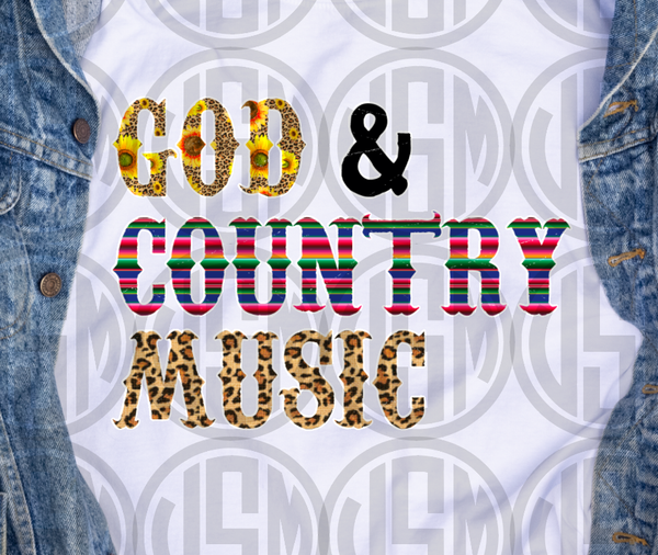 *God and Country Music - Transfer