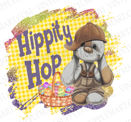 *Hippity Hop - SUBLIMATION TRANSFER