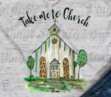 *Take me to church - HTV Transfer