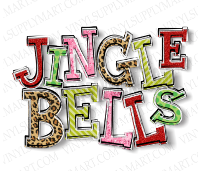 *Jingle Bells - SUBLIMATION TRANSFER