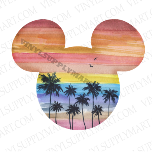*Mouse Beach Scene - SUBLIMATION TRANSFER