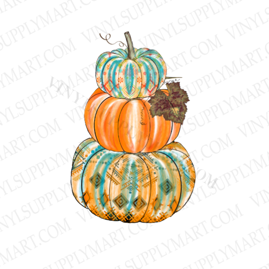 *Pumpkins Stacked - SUBLIMATION TRANSFER