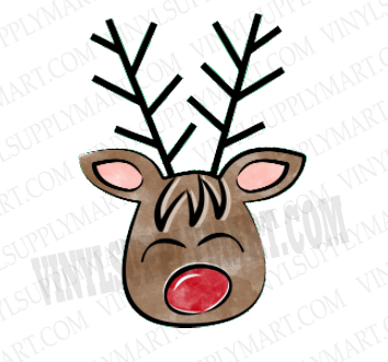 *Reindeer Boy - SUBLIMATION TRANSFER