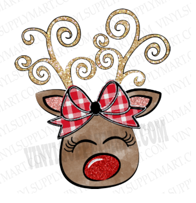 *Reindeer Girl - SUBLIMATION TRANSFER