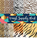 *Safari Animal Prints Pattern
