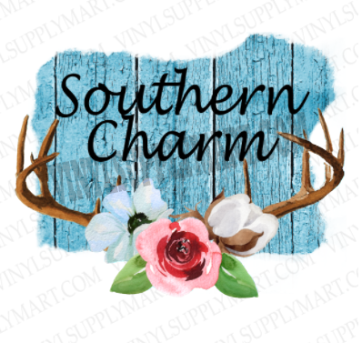 *Southern Charm - HTV Transfer