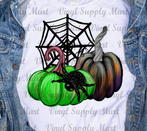 *Spider Pumpkin Transfer