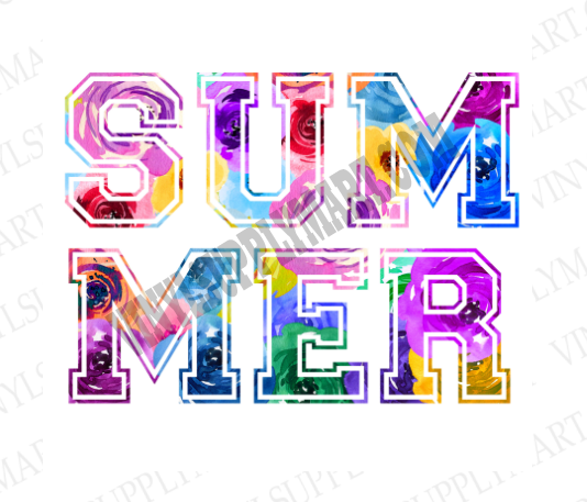 *SUMMER - FLORAL - SUBLIMATION TRANSFER