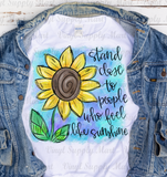 *Sunflower - Sunshine - SUBLIMATION TRANSFER