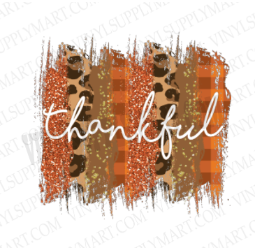 *Thankful - SUBLIMATION TRANSFER