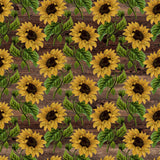 *Sunflower - Rustic Patterns