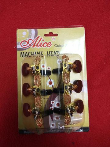 Alice Guitar Machine Head Classical AOS-020V3P