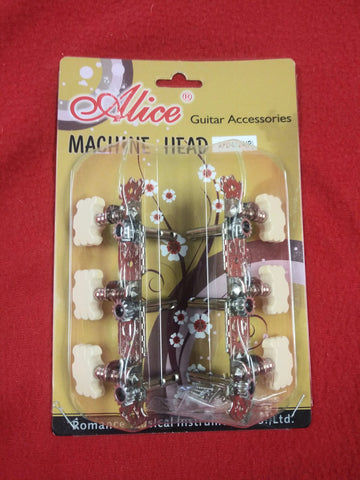 Alice Guitar Machine Head Acoustic AFD-0174(P)