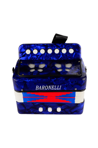 BARONELLI AC0702-BU WOODEN KIDS MINI ACCORDION
