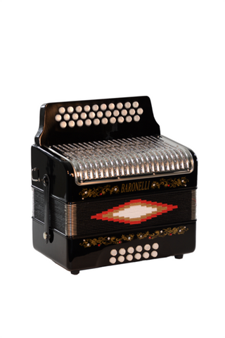 BARONELLI AC3112STG-BK FULL SIZE 31 BUTTON ACCORDION