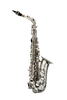 B - U.S.A. WAS-NK ALTO SAXOPHONE NICKEL