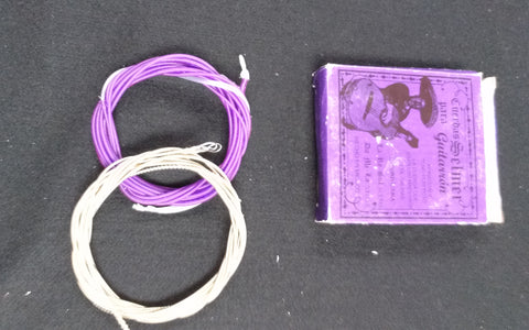 CUERDAS/STRINGS  SELMER PARA GUITARRON 6 STRINGS ( PURPLE)