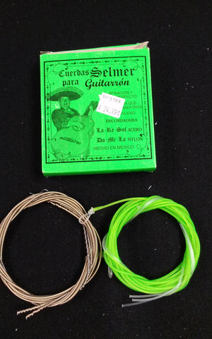 CUERDAS/STRINGS SELMER GUITARRON (GREEN)
