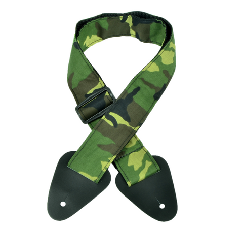 CAMOUFLAGE GS-3CAM NYLON GUITAR STRAP