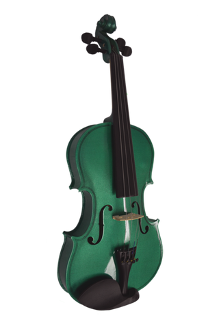 COLORED 4/4 ENSEMBLE GREEN VI4412R-GR  green