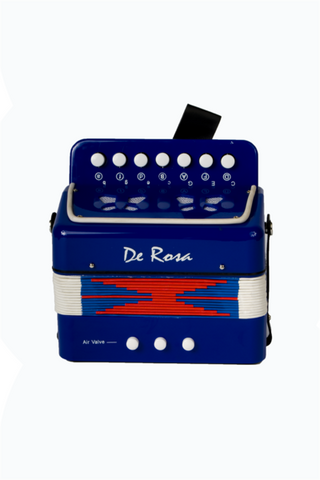 DE ROSA  AC7-BU PLASTIC KIDS MINI ACCORDION