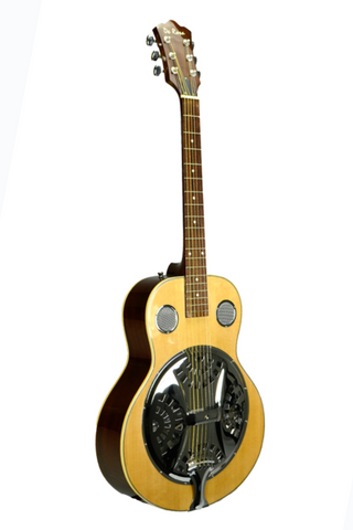 DE ROSA DBI-8-VSB-NT RESONATOR ACOUSTIC GUITAR